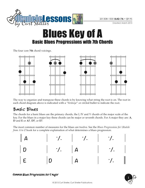 Learning Ukulele with Curt • Basic Blues Progressions in A Major
