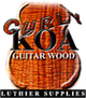 Curly Koa Guitar Wood